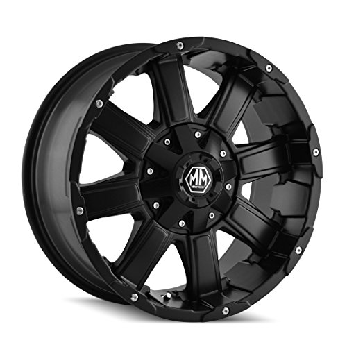 "Mayhem Chaos 8030 Matte Black Wheel (20x9""/12x135mm)"