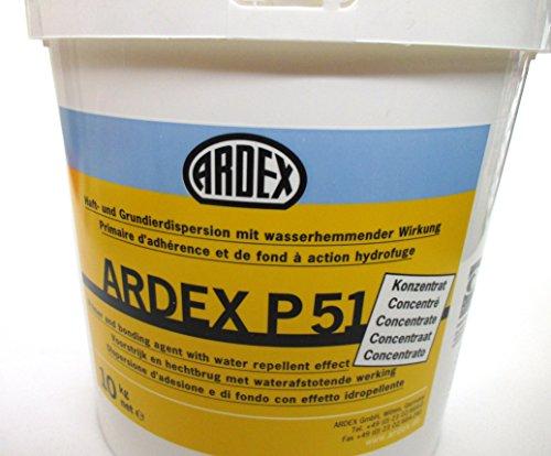 ARDEX P 51 Haft- und Grundierdispersion 10 kg Grundierung, Voranstrich, Haftbrücke und Porenverschluss