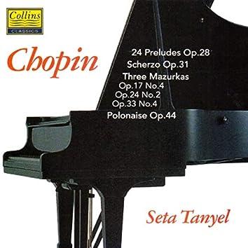 Chopin: 24 Préludes - Scherzo Op.31 - Three Mazurkas - Polonaise Op.44