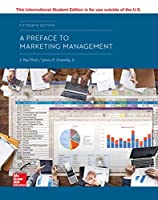 ISE A Preface to Marketing Management