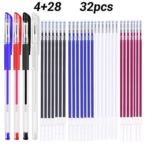Dolity Selbstl/öschend Trickmarker Markierstift N/ähen Sticken Quilten Stifte Blau 1mm