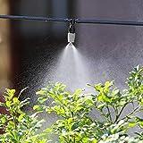 AUNMAS 20Pcs Ugelli di nebulizzazione Ugello di nebulizzazione Tubi di distribuzione Racco...
