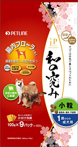 ジェーピースタイル 和の究み トータルボディケア 1~6歳までの成犬用 900g
