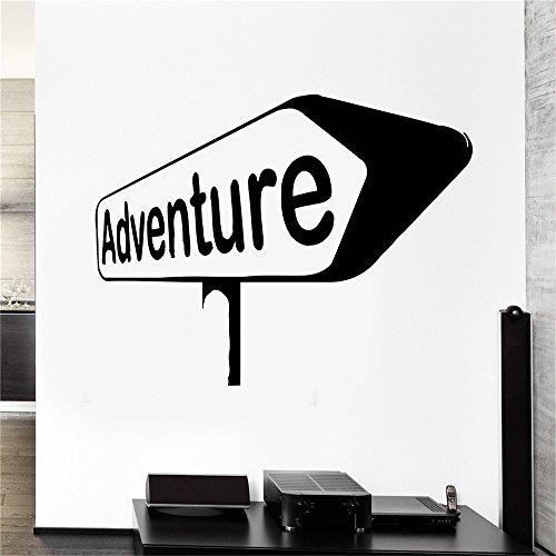 adesivo muralealbero portafoto adesivo muralealbero Inspire Adventure Travel Sign