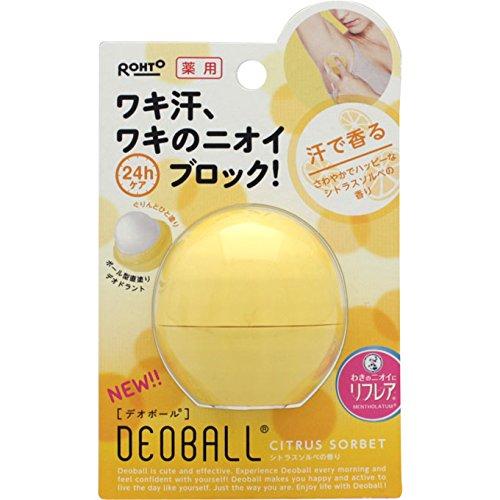 デオボール シトラスソルベの香り 15g