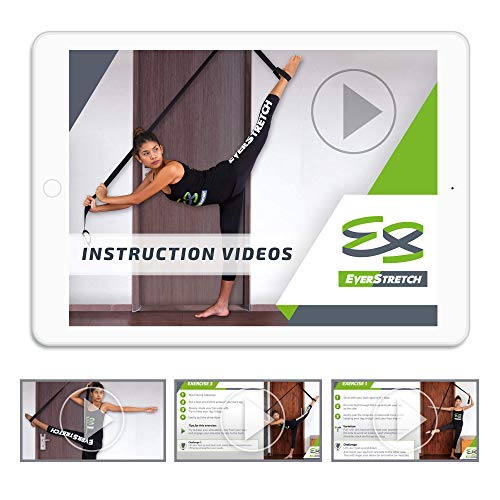 Product Image 6: EverStretch Leg Stretcher: Get More Flexible with The Door Flexibility Trainer LITE Premium Stretching Equipment for Ballet, Dance, MMA, Taekwondo & Gymnastics. Your own Portable Stretch Machine!