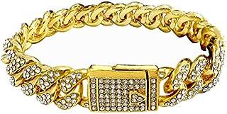 سوار سلسلة بصفين من الماس للرجال من هيب هوب مجوهرات
