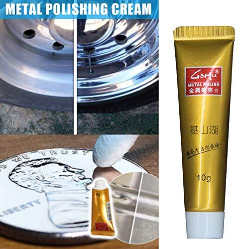 Ecosway 3 Stück Ultimate Metall Polish Creme Rostentferner Edelstahl Keramik Uhr Poliercreme 5G