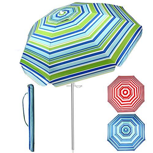 SUNYPLAY Beach Umbrella,7ft Beach Umbrella