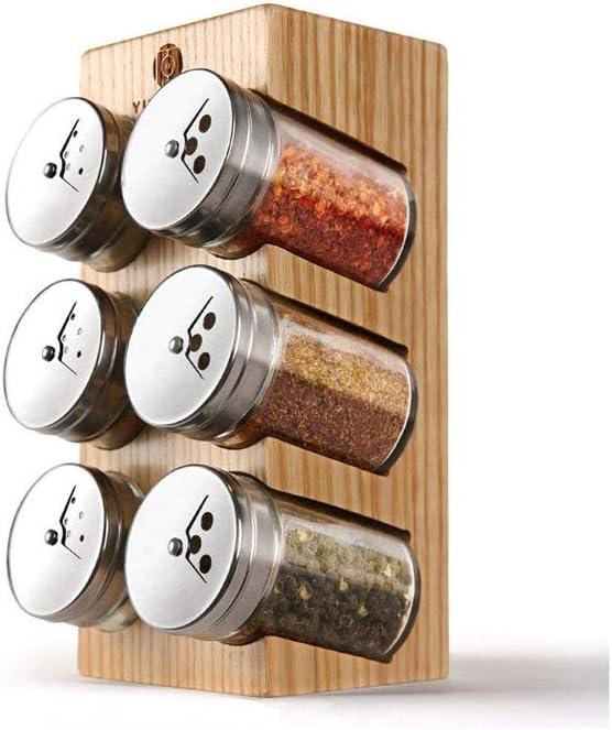 SPNEC Creative Seasoning Bottle Spice Rack Bo Kitchen 100% Outstanding quality warranty