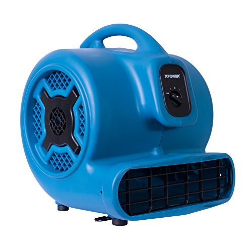 XPOWER P-830 Professional Air Mover, Carpet Dryer,...