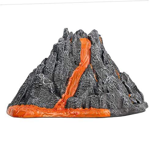 Tubayia DIY Vulkan Modell Vulkanausbruch Wissenschaft Lernspielzeug Pädagogisches Spielzeug für Kinder