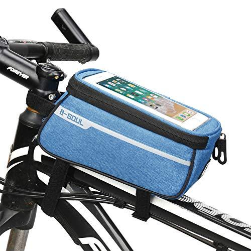 BAIYI Mountainbike tas, fietstas, fietstas, raceauto voortas, rijuitrusting paard, voor mobiele telefoon 6.0 inch scherm