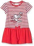 Salt & Pepper Baby-Mädchen 03213203 Kleid, Rot (Lollipop Red 344), (Herstellergröße: 92)