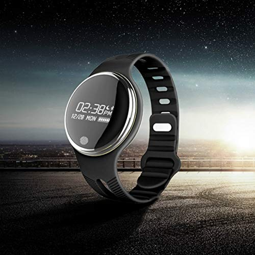 Mufee IP67 impermeable Bluetooth reloj inteligente ejercicio Fitness Tracker podómetro monitor de ritmo cardíaco