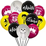 Harrys Cute Potter Party Balloons Supplies Magical Wizard School Party Decorations For Kids Birthday Party, 40pcs