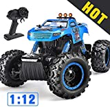 NQD Remote Control Trucks Monster RC Car 1: 12 Scale Off Road...