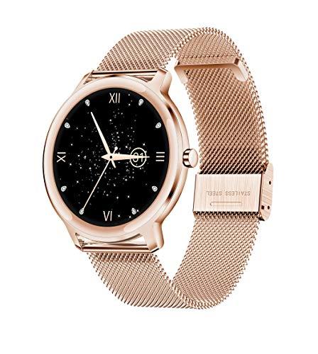 Fitness Armband, LC.IMEEKE Smartwatch Wasserdicht IP67 Fitness Tracker mit Pulsmesser 1,1 Zoll Farbbildschirm Aktivitätstracker Schrittzähler Pulsuhren Smart Watch Fitness Uhr für Damen Herren