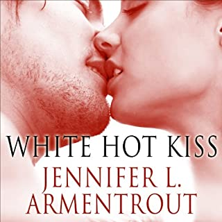 White Hot Kiss audiobook cover art