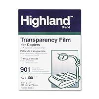 ハイランドコピー機フィルム、ストリップなし(100 / Bx)