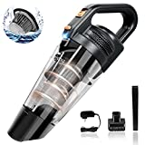 Meiyou Handheld Vacuum,Portable Vacuum Cleaner, Hand Vacuum Cordless with Powerful Cyclonic Suction, Rechargeable 13.5V Li-ion with Quick Charge Tech, Lightweight Vacuum Cleaner