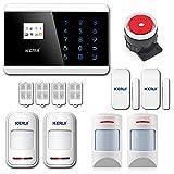 KERUI 8218G Alarme Maison sans Fil Téléphonique GSM RTC Anti Intrusion, Appels,...