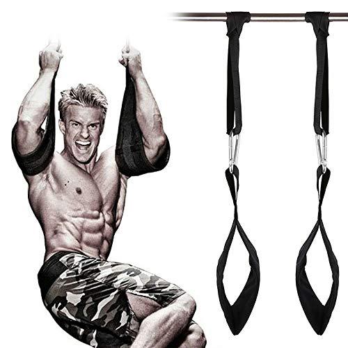 Artwarm Bauchtrainings-Gürtel, horizontale Stange, Klimmzug-Beinhebung, Fitnesstrainer-Set