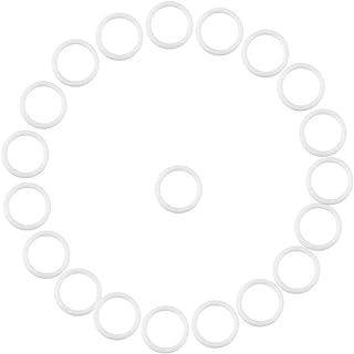 Zerodis 20st säker silikonring för nappar Nappklämmor Adapterhållare Mjuka babykugghållare Ringar Födelsedag Baby showergå...