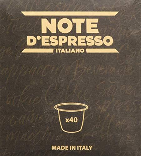 Note d'Espresso Italiano - Cápsulas de capuchino de vainill