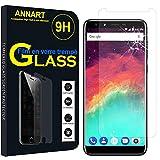 ANNART - Protector de pantalla para Ulefone Mix 2 4G 5.7' [1 unidad] Protector de pantalla de cristal templado para Ulefone Mix 2 4G 5.7' – Transparente