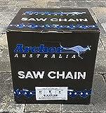 Archer Chainsaw Chain 100ft Roll 3/8' .050 Chisel Chainsaw Chain