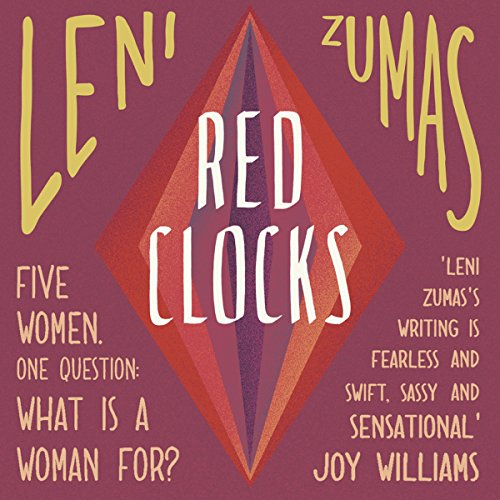 Red Clocks audiobook cover art