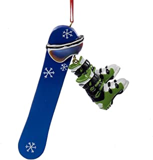 snowboard ornament