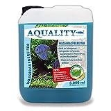 AQUALITY Aquarium Wasseraufbereiter (Macht aus Leitungswasser naturgerechtes Aquariumwasser - Schützt Ihre Fische - Ideal bei Neueinrichtung und Wasserwechsel), Inhalt:5 Liter