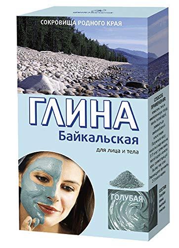 Bajkal Kosmetische Tonerde Blau Pulver Глина косметическая голубая