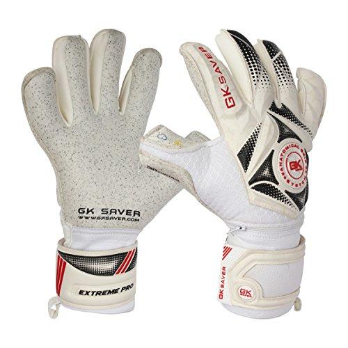 GK Saver Fußball Torwarthandschuhe 3D Winner 04 Quartz Hybrid Top Pro Handschuhe, NO Fingersave NO Personalization, Größe 11
