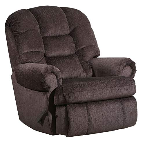 Lane Stallion Big Man Comfort King (Large) Wallsaver Recliner in Torino Chocolate. Made for The Big Guy Or Gal. Rated for Up to 500 Lbs. Extended Length. 79 Inches. Seat Width. 25 Inches. 4501L
