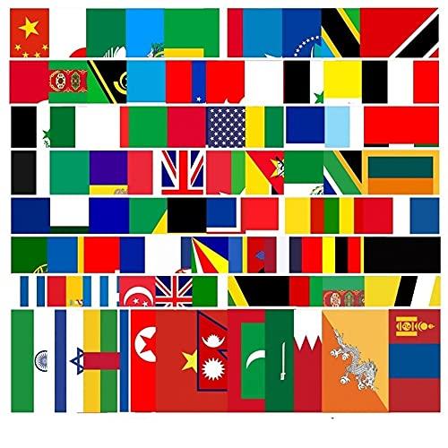 VCHSH 105 Bandera del Coche Pegatinas Pegatinas Coche Pegatinas Creativas de Graffiti del Maletero de Guitarra Equipo del patín Pegatinas