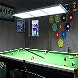 Candelabros de billar de habitaciones, luces especiales mesa de billar, lámparas, luces del club de billar americano, lámparas de mesa de billar,A
