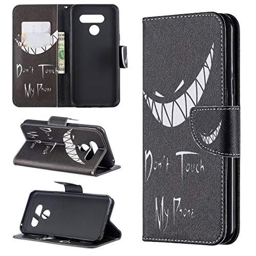 LG K50 / Q60 Hülle, SATURCASE Schönes PU Lederhülle Ledertasche Magnetverschluss Flip Brieftasche Kartenfächer Standfunktion Handy Tasche Schutzhülle Handyhülle Hülle für LG K50 / Q60 (BO-10)