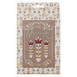 Tilda Kohl Rose Folk Art Patchwork, Papier, Mehrfarbig