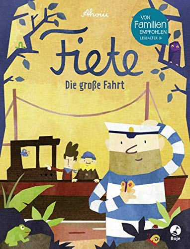 Fiete - Die große Fahrt (Fiete-Bilderbuch, Band 2)