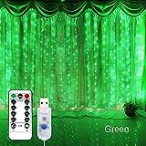Luces de Navidad Decoraciones para la iluminación de vacaciones al aire libre para el hogar Luces de cadena LED de la boda USB Cortina de luces de hadas de guirnalda de Navidad Guirnarldas