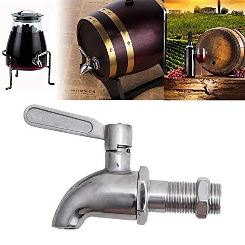 Cóctel set Vino barril espía/grifo/grifo M16 gota barco acero inoxidable bebida dispensador