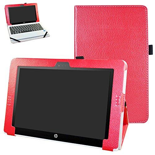 HP Pavilion x2 10 / HP x2 210 hülle,Mama Mouth Folding Ständer Hülle Hülle mit Standfunktion für 10.1
