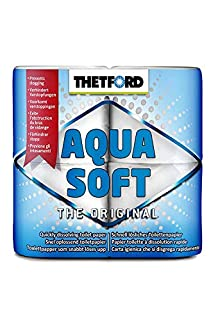 "Thetford 30010 20127 Aqua Soft, 4 rollos, White, unica ""fuori produzione"" (B000TR3RDG) 
