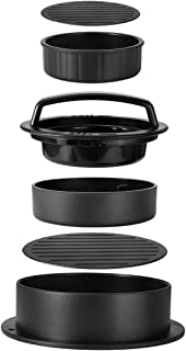 Burger Press Patty Maker to Make Stuffed Burger, Sliders Burger, Beef Burger, Hamburger Press Patty Maker Non Stick Meat and Easy to Clean