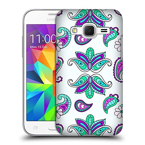 Head Case Designs Ufficiale Haroulita Joker Modello Fiori Carini Cover Dura per Parte Posteriore Compatibile con Samsung Galaxy Core Prime