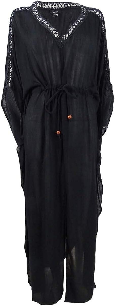 Raviya Women's Plus Size Maxi Dress Swim Cover-Up