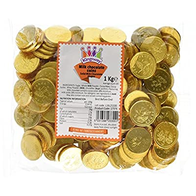 milk chocolate coins - 1kg bag approx 135 Milk Chocolate Coins – 1kg bag Approx 135 51dIsttQoiL